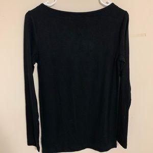 Black Maternity GAP stretchy shirt